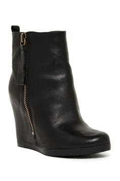 Taboulie Leather Bootie by Nine West