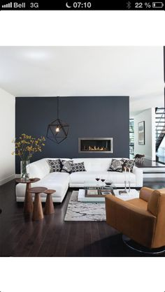 toll dunkle w nde zum hellen fu boden dunkeltrend living in the dark pinterest asche. Black Bedroom Furniture Sets. Home Design Ideas