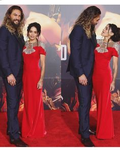 """Jason Momoa and Lisa Bonet. She is with """"Aquaman"""" 💦👅😍 Jason Momoa Lisa Bonet, Jason Momoa Aquaman, Zoe Kravitz, Famous Couples, Celebrity Couples, Celebrity Photos, Thing 1, Cute Couples, Movie Stars"""