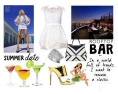 """Untitled #90"" by elza-345 ❤ liked on Polyvore featuring Elena Perseil, Giuseppe Zanotti, Dolce&Gabbana, Miss Selfridge, summerdate and rooftopbar"