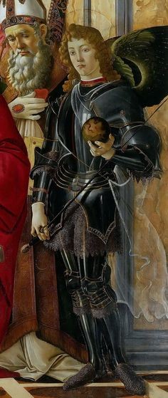 Michael the Archangel by Botticelli