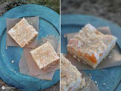 Ananas Mandarinen Schnitten - Ein Blechkuchen Rezept für die große Kaffeetafel. Lässt sich super einen Tag vorher vorbereiten!