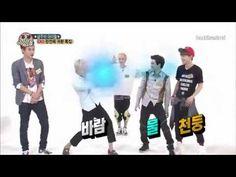 [ENGSUB] 130814 EXO Weekly Idol CUT! ChanHunSuChen Power!! - YouTube Also Tao's nunchuck skills!!