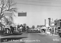 19th and Main St., Vancouver, Wa.  Early 1950s.