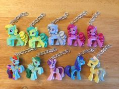 My Little Pony Keychains  Collectors Cards 10 Ponies by ErinEtc, $6.99  Just added: Rarity
