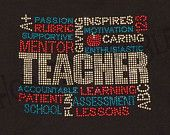 bling counselor shirt designs | Rhinestone Teacher Chant Tshirt