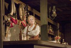 "Deborah Voigt as Minnie in Puccini's ""La Fanciulla del West"" (The Girl of the Golden West).  Photo: Ken Howard/Metropolitan Opera"