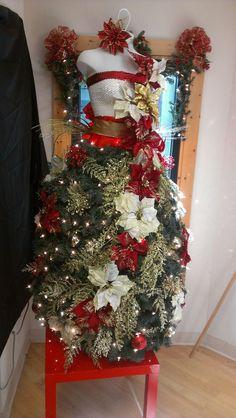 Vestidos de árbol de Navidad, la moda que arrasa en Pinterest (FOTOS)