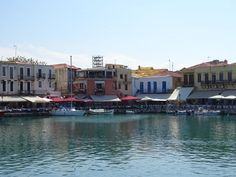 Venetian port Rethymnon