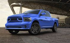 Download wallpapers Ram Hydro Blue Sport, 2018 cars, Ram 1500, SUVs, american cars, Dodge for desktop free. Pictures for desktop free