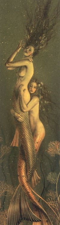""" Lovers ""       "" Title Unknown  ""   from Old Erotic art Thank you to Hermosanikita  for this beautiful stylized painting. Is this what is meant by the term: ""being wet"" ?"