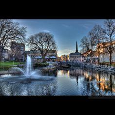 Svartån. Västerås. Sweden