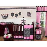 Sweet Jojo Designs Madison Collection 11-Piece Crib Bedding Set