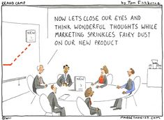 Marketing Fairy Dust cartoon