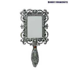 Bharat Handicrafts Alluring Rectangular Hand Mirror, http://www.snapdeal.com/product/BharatHand/92934