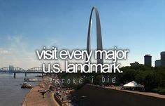 I had to use a picture of the Arch and represent hahaa.