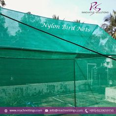 Nylon Bird Netting is Extensively used Bird Exclusion Device to Protect both your Buildings and Agricultural Crops.  #Nylon_Bird_Netting #Bird_Net #Netting_Solutions