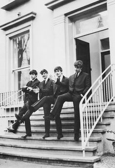 The Beatles. Paul's a little rebel!