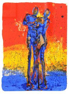 Frans Widerberg - Par i prisme, Norway Hakone, Venice Biennale, Color Psychology, Beautiful Paintings, Figure Drawing, Art Blog, Norway, Fine Art, Figurative