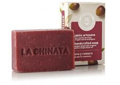 jabón artesano Con aceite de virgen extra ecologico handcrafted soap elaborated with organic extra virgin olive oil