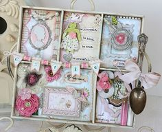 Maya Road Shabby Shadow Box