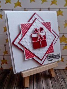 Handmade Christmas Crafts (Handmade Holiday Crafts) - My Cute Christmas Christmas Card Crafts, Homemade Christmas Cards, Christmas Cards To Make, Homemade Cards, Christmas Cookies, Christmas Projects, Embossed Christmas Cards, Cricut Christmas Cards, Origami Christmas