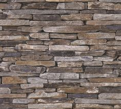 Millwood Pines Wallick Wood Stone Brick L x W Wallpaper Roll Colour: Cream/Gray Stone Wallpaper, Feature Wallpaper, Vinyl Wallpaper, Wallpaper Roll, Wallpaper Direct, Wallpaper Online, Dry Stone, Wood Stone, Granite Remnants