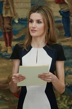 Spanish Queen Letizia attends the 'National Culture' awards 2015 at the El Pardo Palace on 16.02.2015 in Madrid, Spain
