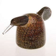 OIVA TOIKKA - Lasilintu 'Haikara-emo', signeerattu O. Toikka Nuutajärvi, 1990-luku. Ceramic Design, Glass Design, Design Art, Tallit, Glass Birds, Nordic Design, Bird Art, Decoration, Finland