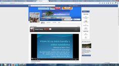 Jak na Facebook stránku přidat youtube kanál Woox
