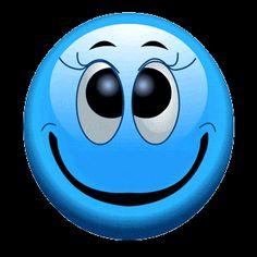 Little Blue Boo Smiley Animated Emoticons, Funny Emoticons, Animated Gif, Emoji Images, Emoji Pictures, Funny Pictures, Bisous Gif, Funny Emoji Faces, Smiley Emoji