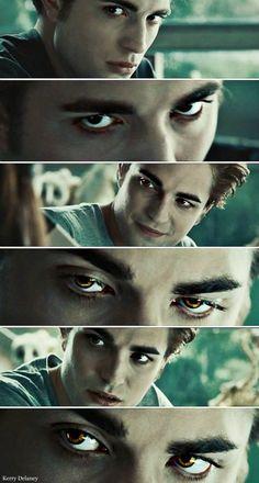 Edward Cullen's eyes