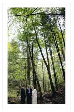 Lovely Little Woodsy Wedding from a few weeks ago in the Red River Gorge.