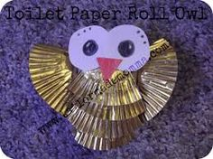 how to make owls from toilet paper rolls - Hledat Googlem