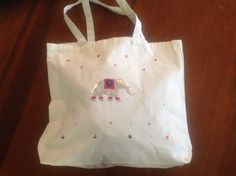 Elephant  tote bag by Qoot2Boot on Etsy, $10.00