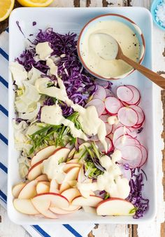 Fennel and Apple Coleslaw