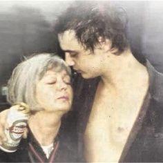 Pete Doherty & mum