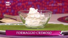 Detto Fatto | Ricetta formaggio spalmabile e triangoli cremosi di Roger Massari