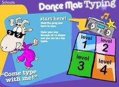 Dance Mat Typing - Free Online Typing Lessons for Kids Fun Learning, Learning Activities, Teaching Kids, Teaching Tools, Teaching Resources, Piano Lessons, Lessons For Kids, Intj, Alone