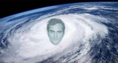 Powerful Hurricane Joaquin is churning its way toward the U.S. East Coast Thursday sparking coastal rainfall warnings -- and social media goofiness.
