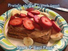 Protein Stuffed French Toast.. https://www.facebook.com/photo.php?fbid=10202625586254444&set=a.1631803388566.2081200.1041081714&type=1&theater