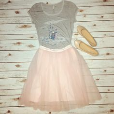 We plan to live out our princess dreams in this pretty Cinderella-inspired style.