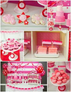 American Girl Doll Birthday Party with REALLY CUTE IDEAS via Kara's Party Ideas | KarasPartyIdeas.com #Pink #Doll #PartyIdeas #Supplies (1)