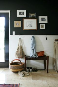 bolga basket mudroom