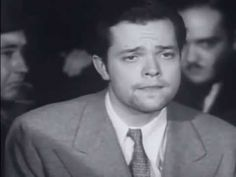George Orson Welles apologizes for the The War of the Worlds broadcast (October 31 1938)