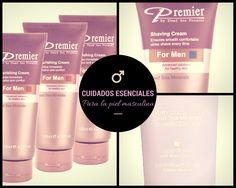 Cuidados piel masculina. Descubre nuestros productos exclusivos para ellos con @PremierESP #CosmeticaMasculina #MenCare #Piel #Belleza
