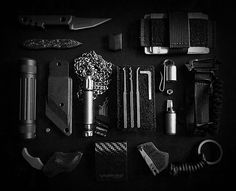 EDC is everyday carry, the philosophy of equipping highly personalized sets of…