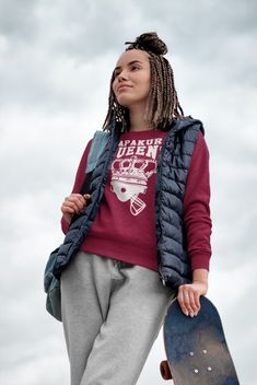 Womens Queens Sweatshirt Turn Up, Training Day, American Football, Rib Knit, Looks Great, Queens, Logo Design, Athletic, Knitting