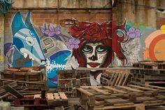 Architecture Urban Graffiti Wall