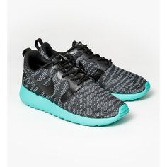 ce86e1bef17 Nike Womens Roshe Run Jacquard ( 98) ❤ liked on Polyvore featuring shoes